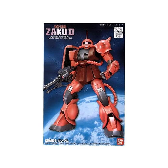 1/144 FG Char's Zaku - Model Kit