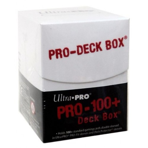 Pro-Deck Box Ultra Pro - Blanco