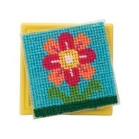 Simply Needlepoint Flower