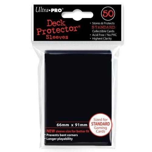 Protector de Cartas Ultra Pro - Negros Standar