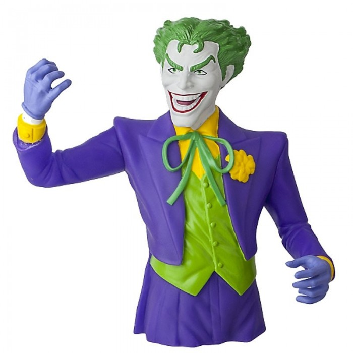 Figura Joker Bust Bank DC Comics