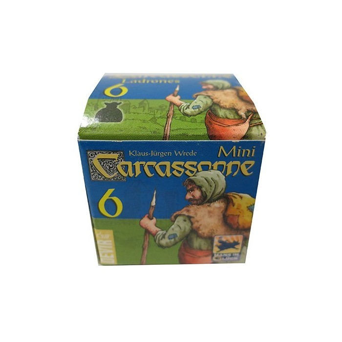 Carcassonne Mini Expansiones Ladrones