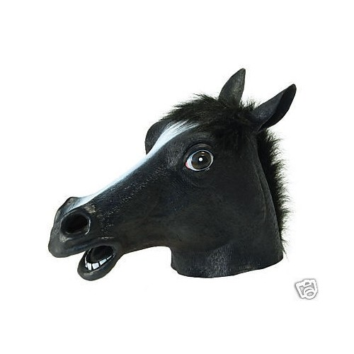 Máscara de Caballo Negro