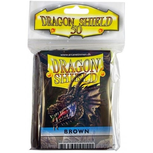 Protector de cartas Dragon Shield 50- Standard Cafe