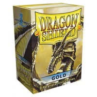 Protector de cartas Dragon Shield 100 - Standard Gold