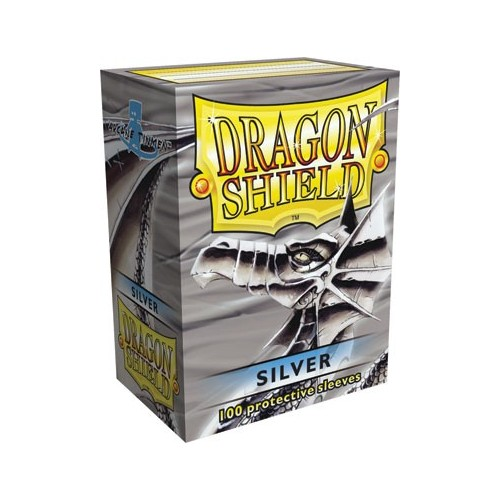 Protector de cartas Dragon Shield 100- Standard Turquesa