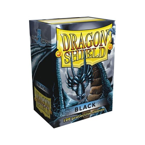 Protector de cartas Dragon Shield 100- Standard Protector de cartas Dragon Shield 100- Standard Negro