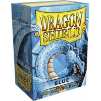 Protector de cartas Dragon Shield 100- Standard Azul