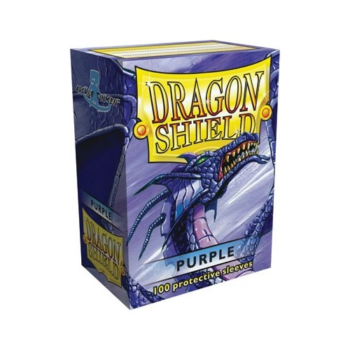 Protector de cartas Dragon Shield 100- Standard Morado