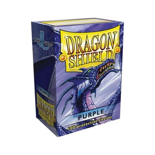 Protector de cartas Dragon Shield 100- Standard Morado