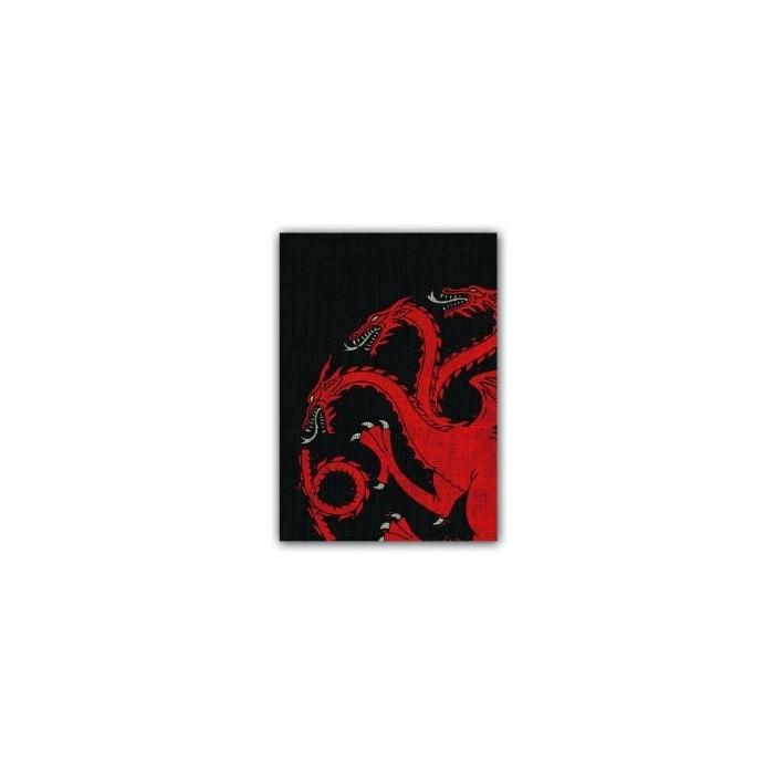 Protector de Cartas Games of Thrones Casa Targaryen 50 - Standard