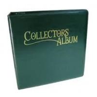 Collectors Album 4 Bolsillos Verde