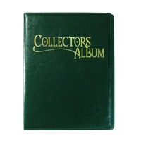 Collectors Album 9 Bolsillos Verde