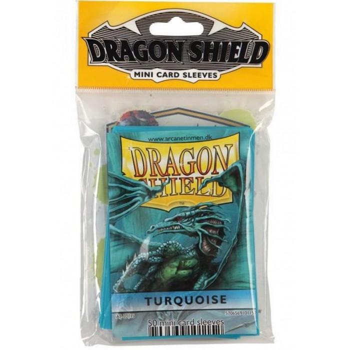 Protector de cartas Dragon Shield 50 - Mini Dorado