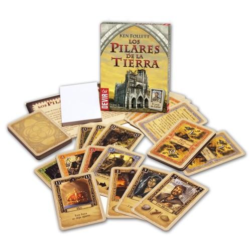 Los Pilares de la Tierra - El Juego de Cartas