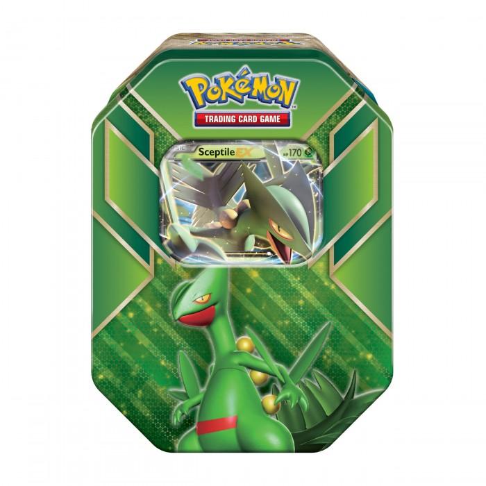Pokemon Hoenn Power Tin - Sceptile