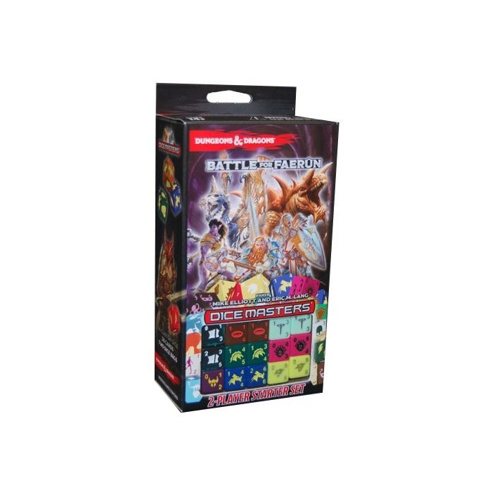 Dungeons and Dragons Dice Masters: Battle of Faerun - Starter Set