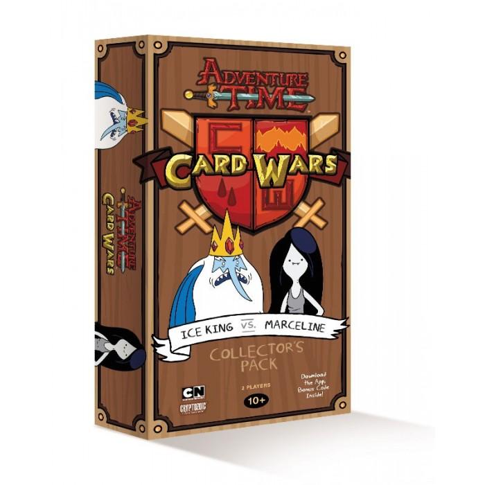 Adventure Time - Card Wars: Ice King v/s Marceline