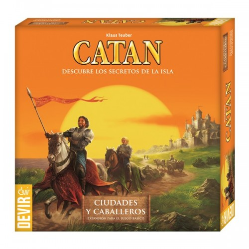Catan - Expansion Ciudades y Caballeros