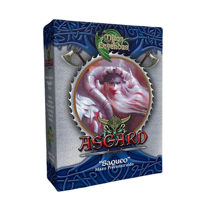 "Display Mazos ""Asgard"" Mitos y Leyendas"