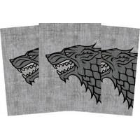 Protector de Cartas Game of Thrones Casa Stark 50 - Standard