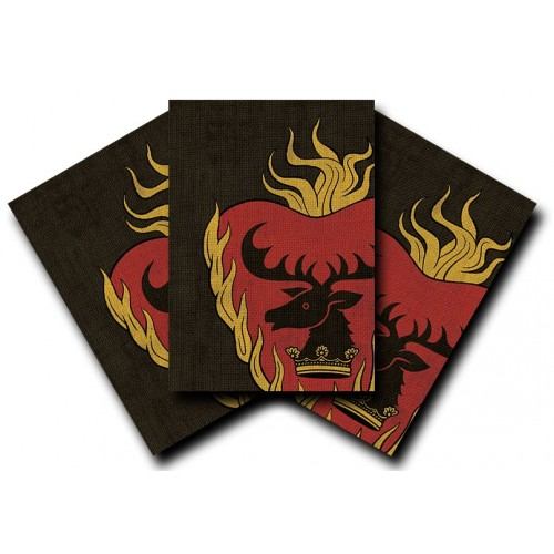 Protector de Cartas Game of Thrones Stannis Baratheon 50 - Standard