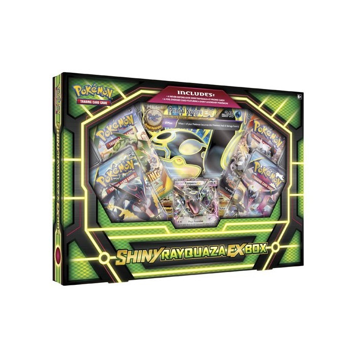 Pokemon Shiny Rayquaza Ex Box
