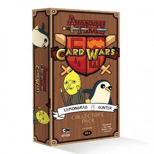 Adventure Time - Card Wars: Lemongrab vs Gunter