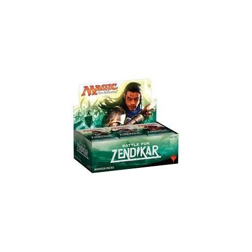 Display de sobres Magic La batalla por Zendikar