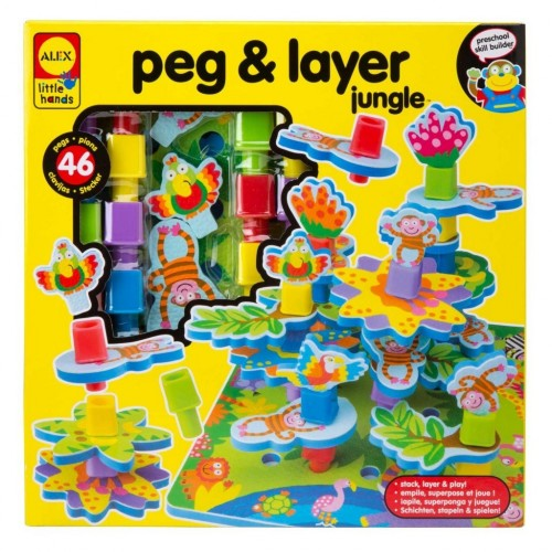 Peg & Layer Jungle
