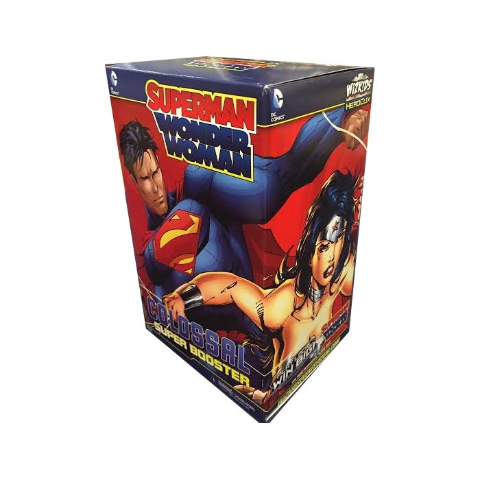 Super Booster SUperman/Wonderwoman