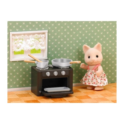 Cat Sister with oven set 1917
