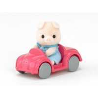 Pig Baby with Car 1483