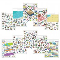 Stickers Super Doodle Vacation