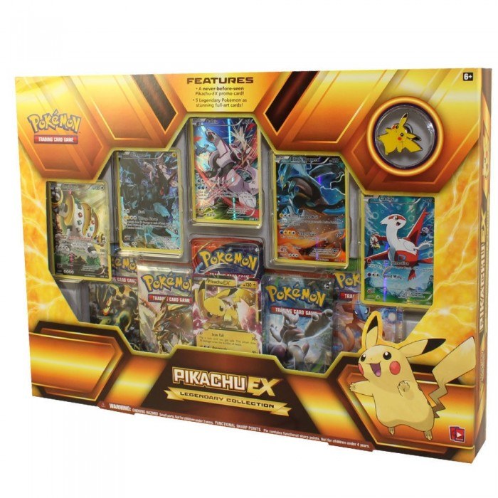 Legendary Collection: Pikachu Ex Box