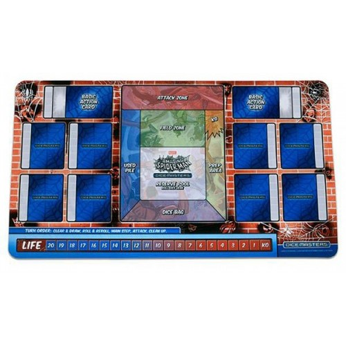 Playmat The Amazing Spiderman Dice Masters