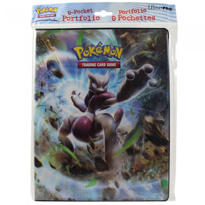 Carpeta Pokemon XY8 TurboImpulso 9 Bolsillos - MegaMewtwo X