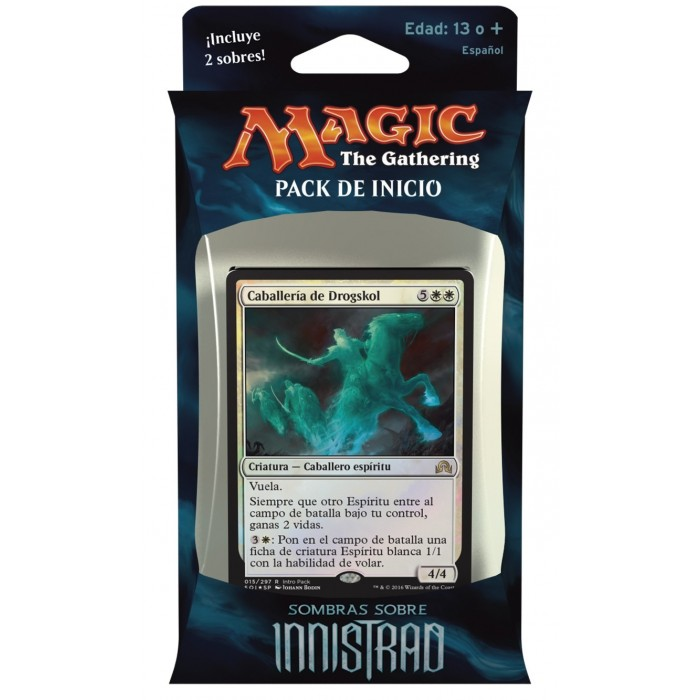Magic Sombras sobre Innistrad Pack de Inicio Blanco