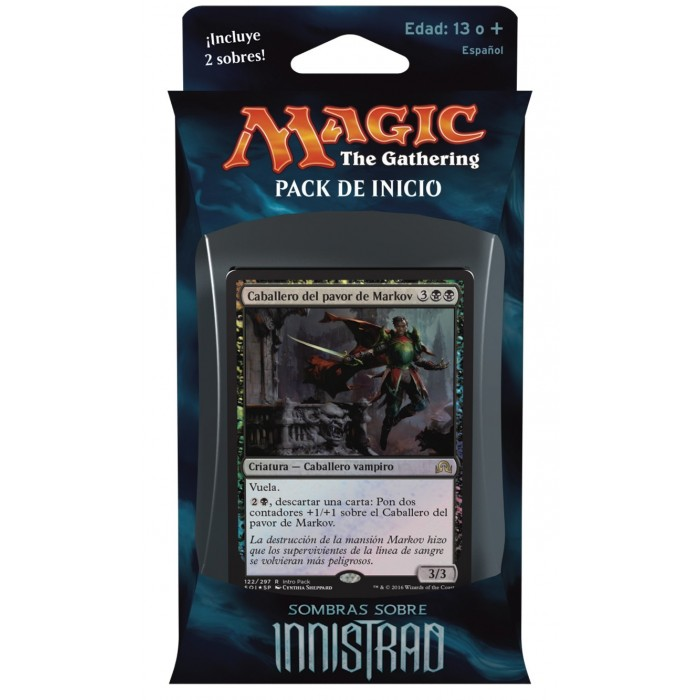 Magic Sombras sobre Innistrad Pack de Inicio Negro