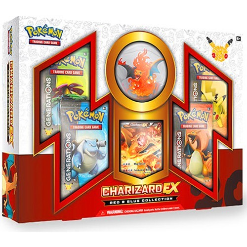 Charizard Ex red & Blue Collection
