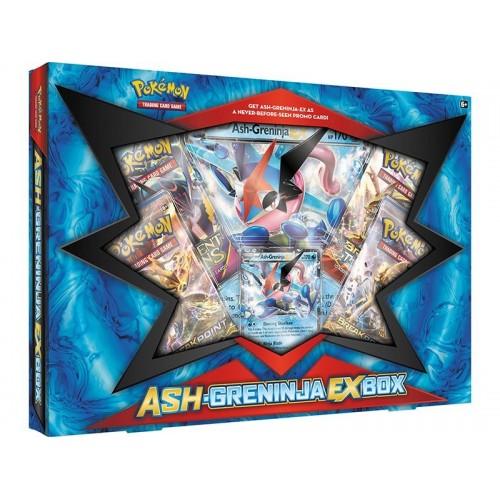 Pokemon Ash-Greninja Ex Box