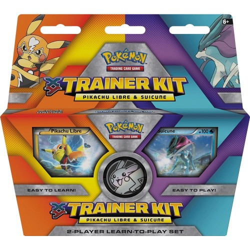 Pokemon XY Trainer Kit - Pikachu Libre & Suicune