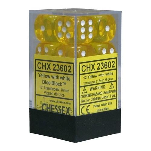 CHX23602 Set de dados 12 dados