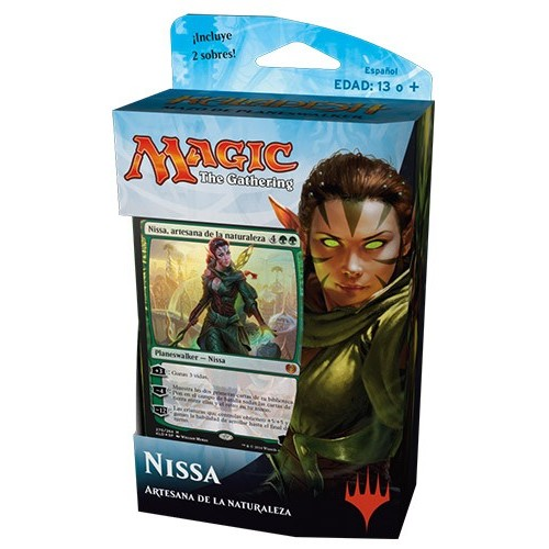 Mazo Magic Kaladesh Planeswalker Nissa