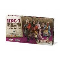 Zombicide Black Plage: Notorious Plagued Characters 1