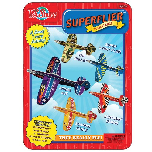 Superflier Foam Planes