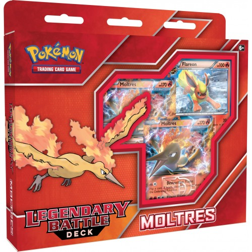 Pokemon Legengary Battle Deck Moltres