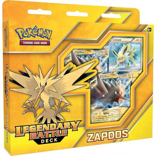 Pokemon Legengary Battle Deck Zapdos