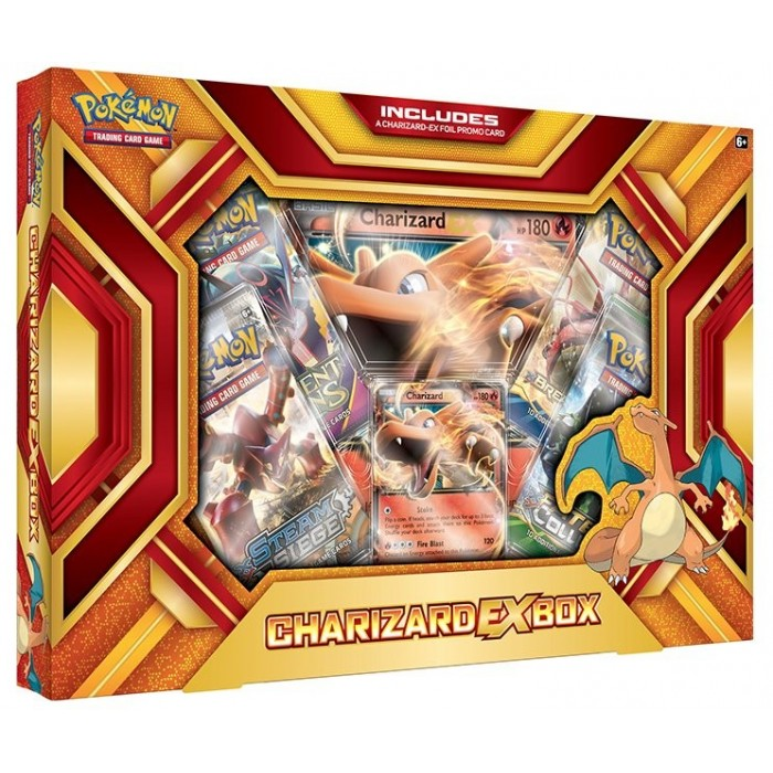 Charizard-EX Box