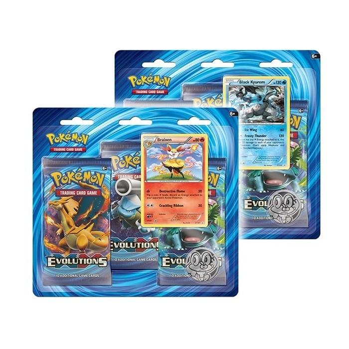 Pokemon XY Evolutions Blister Pack